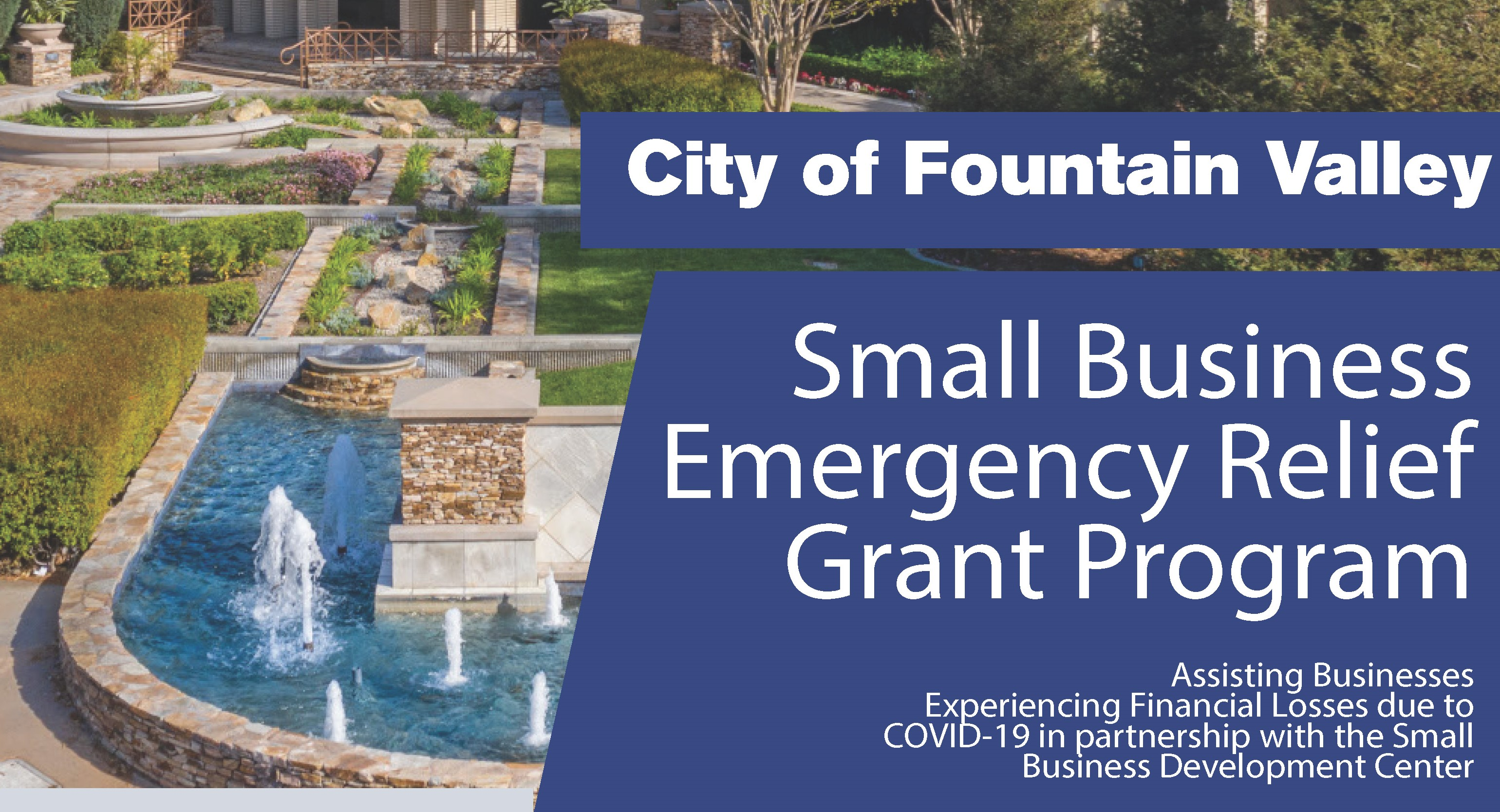 Small Business Emergency Relief Grant Program Banner