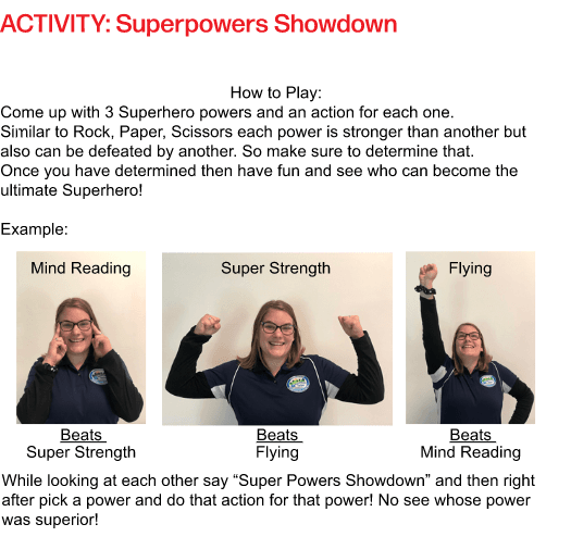 FV Staff showing superpowers showdown