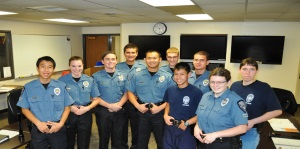 Police Explorers Group Photo