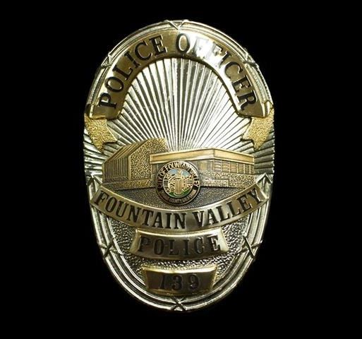 Shiny FVPD Badge