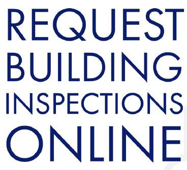 Building Request Inspections block text image