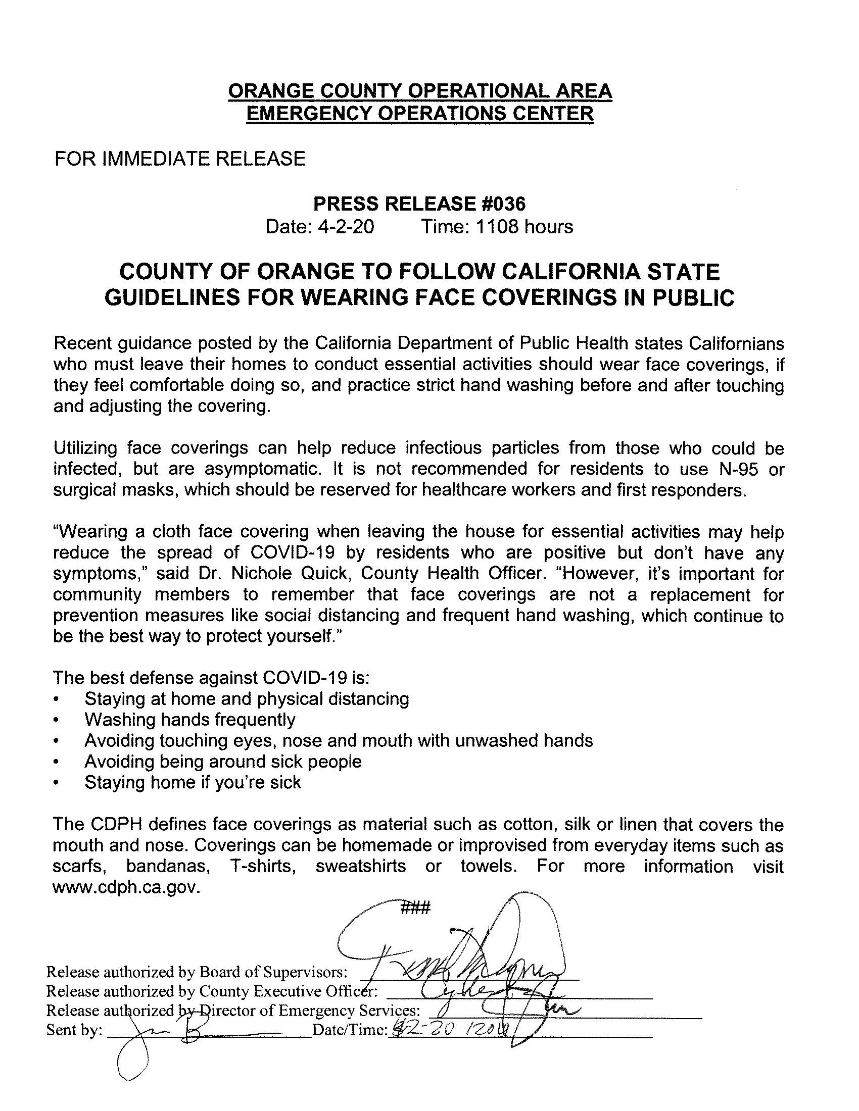 EOC Press Release 36 - Masks_Page_1