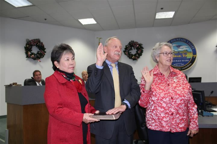 Council Members Elect Steve Nagel and Cheryl Brothers
