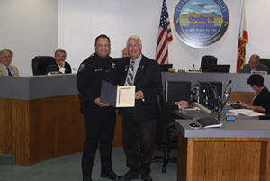 Chief Llorens Proclaims Night Out