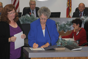 Council Member Cheryl Brothers Sworn In