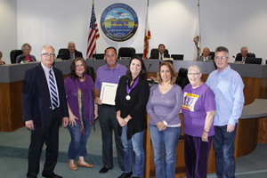Mayor Honors 2013 Relay for Life Committee