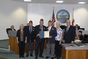 Mayor McCurdy Supports Buddy Poppy Month