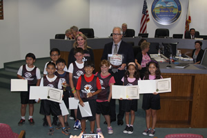 Boys and Girls Club Honors Mayor