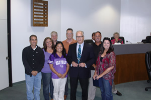 Relay for Life Committee Honors Mayor