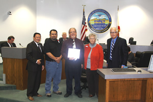 Mayor McCurdy Honors Public Cable Television