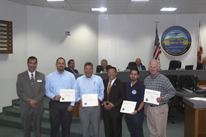Mayor Vo Recognizes Earth Day Recycling Program