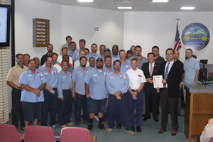 Mayor Vo Honors Public Works Department