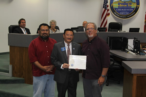 Mayor Vo Honors Public Cable Television Authority
